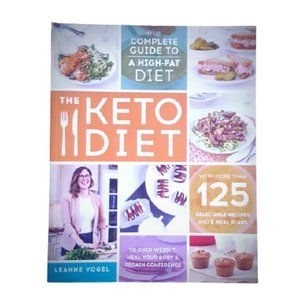 The keto diet book by Leanne Vogel